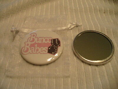 Bunko or Bunco Pocket Purse Mirror