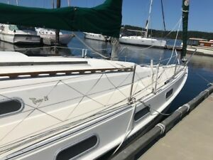 1978 Tanzer Sailboat    Excellent condition with many upgrades