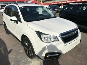 2017 Subaru Forester MY18 2.0D-L White Continuous Variable Wagon Rockdale Rockdale Area Preview