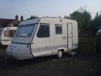 1996 Adria 4 berth caravan