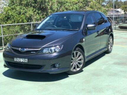 2010 Subaru Impreza G3 MY10 WRX Grey Manual Hatchback North Manly Manly Area Preview