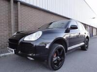 2004 PORSCHE CAYENNE Turbo 5dr Tiptronic S LOW MILEAGE