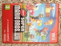 SUPER MARIO BROS. Wii Game For NINTENDO Wii Great Condition