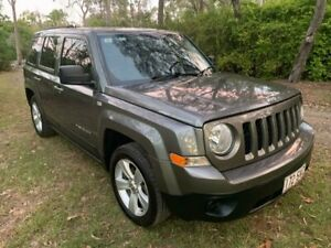 2013 Jeep Patriot MK Sport Wagon 5dr CVT 1sp 4x2 2.0i Grey Constant Variable Wagon Sheldon Brisbane South East Preview