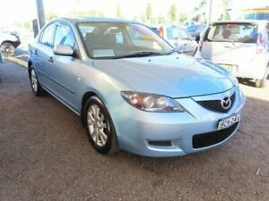 2007 Mazda 3 BK10F2 Neo Blue 4 Speed Sports Automatic Sedan Minchinbury Blacktown Area Preview