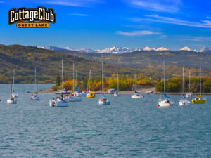 CottageClub Ghost Lake - Lakeside Cottage Lots For Sale, Alberta