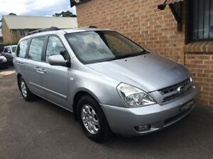 2008 Kia Grand Carnival VQ EX Luxury Silver 5 Speed Automatic Wagon Campbelltown Campbelltown Area Preview