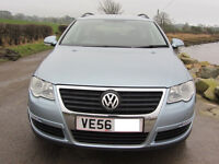VW Passat Estate 1.9 SE TDI 5 Door Sky Blue Diesel Manual