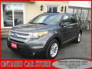 2015 Ford Explorer XLT NAVIGATION SUNROOF DUAL DVD