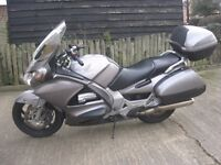 HONDA ST1300 A ABS PAN EUROPEAN TOURING MOTORCYCLE IN ORIGINAL SILVER-2003 MODEL- MOTed NO OFFERS