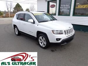 2015 Jeep Compass High Altitude 4x4 only $163 bi-weekly all in!