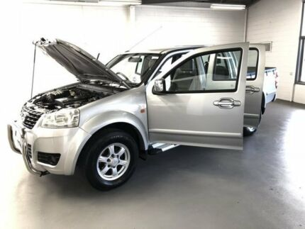 2011 Great Wall V200 K2 MY11 Silver 6 Speed Manual Utility