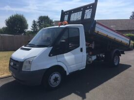 FORD TRANSIT 115 T350 TIPPER