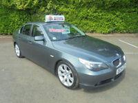 04 04 BMW 530 3.0 automatic / triptronic i SE 4 DOOR SALOON IN METALIC GREY