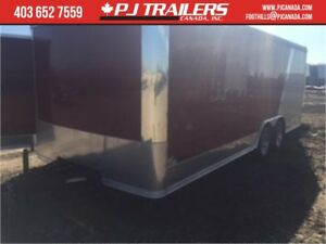 20' Car Hauler Round top 9990GVWR Torsion Axles