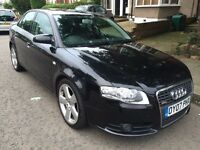 2007 Audi A4 2.0 TDI S-LINE 4dr, AUTOMATIC,FULL LEATHER, 6 CD CHANGER