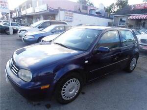 2002 VW Golf GL TDI Coupe  Hatchback  Auto Diesel Blue  171,000k