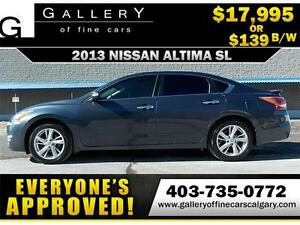2013 Nissan Altima 2.5 SL $139 BI-WEEKLY APPLY NOW DRIVE NOW