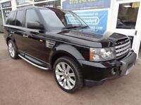Land Rover Range Rover Sport 2.7TD V6 auto 2006 Nav DvD Player F/S/H Inc Belts
