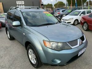 2008 Mitsubishi Outlander ZG MY08 LS Silver 6 Speed CVT Auto Sequential Wagon Wangara Wanneroo Area Preview