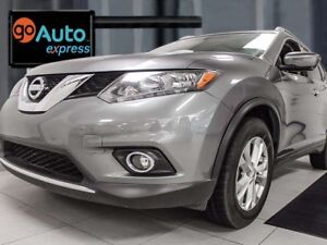 2016 Nissan Rogue Rogue SV AWD with twin panel moonroof, heated