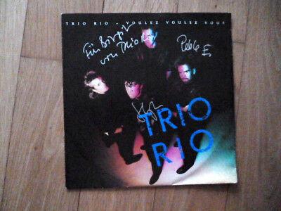 Trio Rio - Voulez Voulez Vous - When she's on fire - signiert + Product-fact