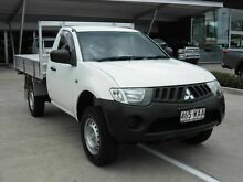 2007 Mitsubishi Triton ML MY07 GL White 5 Speed Manual Cab Chassis Yamanto Ipswich City Preview