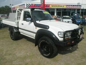 1994 Toyota Landcruiser HZJ75RP White 5 Speed Manual Utility Kippa-ring Redcliffe Area Preview
