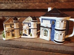 Otagiri town house/row house teapot, creamer and sugar set