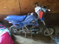 Mini Dirt Bike Police Auction Mon Oct 5 @ 5 pm