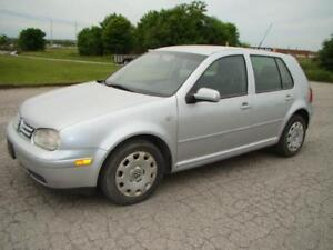 2007 VOLKSWAGEN GOLF -  AUTO  * 143 K ON NEW ENGINE