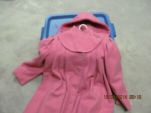 A STEAL AT $25.GIRLS OLD FASHIONED DRESSY WOOL COATS Prince George British Columbia image 2