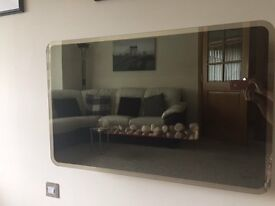 Electric wall hung glass front fire