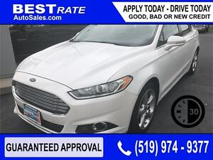 FORD FUSION SE - APPROVED IN 30 MINUTES! - ANY CREDIT LOANS