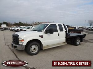 2008 Ford F350 XL EXT SD Flat Bed Dually