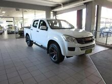 2014 Isuzu D-MAX TF MY15 SX HI-Ride (4x2) Splash White 5 Speed Automatic Crewcab Thornleigh Hornsby Area Preview