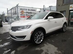 Lincoln MKX AWD,RÉSERVE V-6 ÉCOBOOST AWD,TECHNOLOGY-GPS-MAGS  20