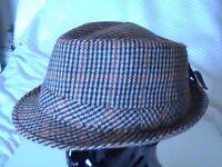 Men's trilby hat/Caps for SALE