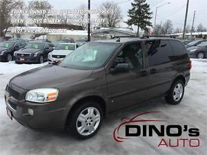 2008 Chevrolet Uplander LS | $41 Weekly *OAC $0 Down / 7 Pass