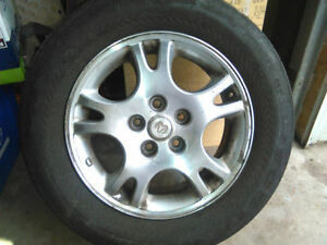 ALUMINUM RIMS 16 in