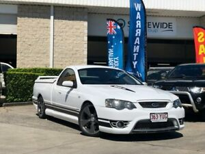 2007 Ford Performance Vehicles Super Pursuit BF Mk II White 6 Speed Sports Automatic Utility East Brisbane Brisbane South East Preview