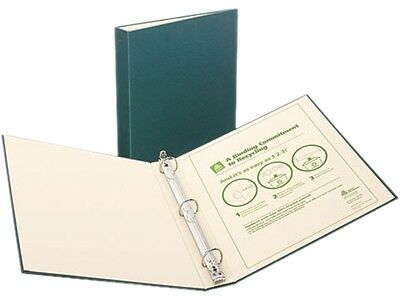 Avery 50006 Eco Recyclable Binders Green 1 12 Inch 3 Ring Binders 2 Binders