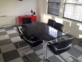 EXCELLENT CONDITION - 6 SEATER OFFICE MEETING ROOM TABLE