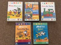 5 Maisy Childrens Dvds.