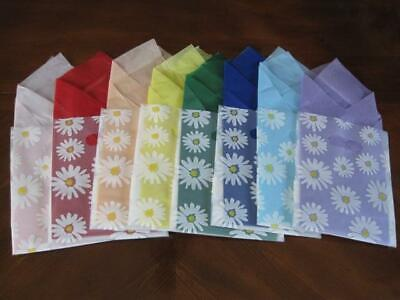 Frosted Daisy Gift Bags Boutique Retail Shop Craft Fair Shopping 8 X 10 160