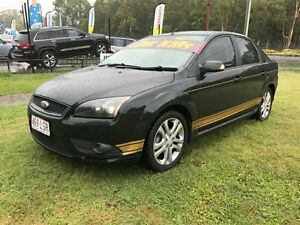 2008 Ford Focus LT 08 Upgrade Zetec Black 4 Speed Automatic Sedan Clontarf Redcliffe Area Preview