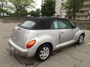 Need to sell fast:   2005 Chrysler PT Cruiser convertible.