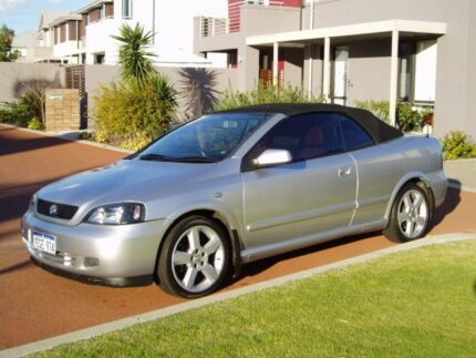 2003 Holden Astra Turbo Convertible low kms books service history Burswood Victoria Park Area Preview