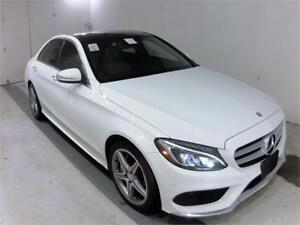 2015 MERCEDES-BENZ C300 4MATIC *AMG PKG,NAVIGATION,BACKUP CAM*