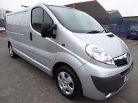 FINANCE ME!! NO VAT!! Vaxhall Vivaro lwb 2.0ltdi sportive panel van with only 71k from new and FSH!!